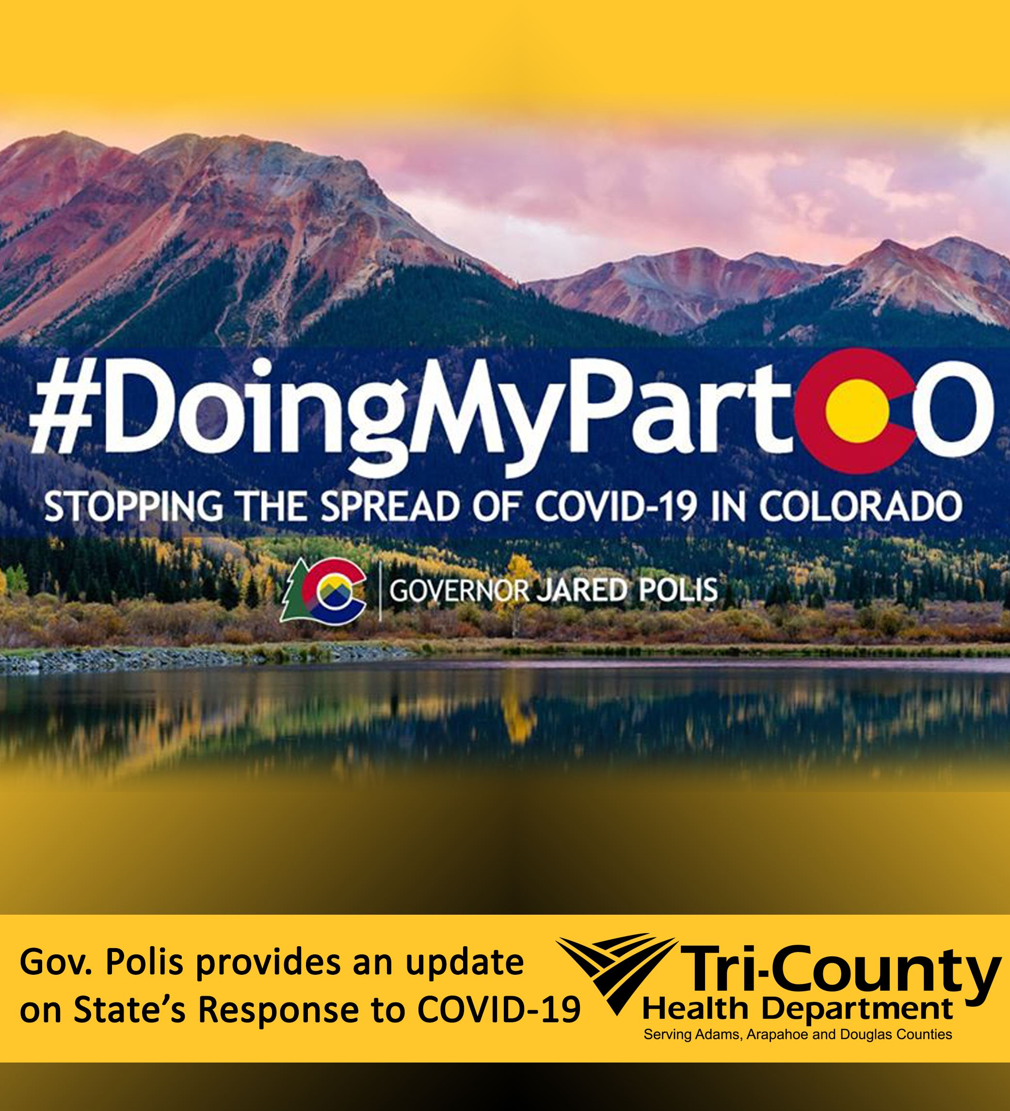 #DoingMyPartCO Stopping the Spread of COVID-19 in Colorado
