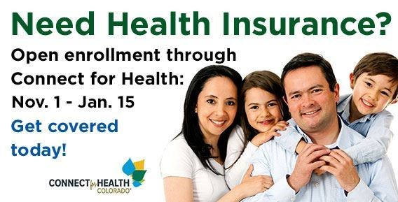 Need Health Insurance? Open enrollment through Connect for Health Nov 1 - Jan 15 Opens in new window